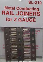 PECO SL-210  Fishplates x 24 (Track Joiners) 'Z' Gauge Code 60 - 1st Class Post