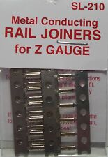PECO SL-210  Fishplates x 24 (Track Joiners) 'Z' Gauge Code 60 - 1st Class Post