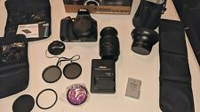 Nikon D3500 DSLR, with Two lens kit: 18-55mm & 70-300mm VR DX Lens.  Great Cond!