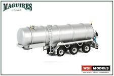 WSI Models | 03-1124 White Line; TANK TRAILER VACUUM - 3 AXLE