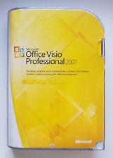Microsoft Office Visio Professional 2007 32 Bit Deutsch CD Vollversion D87-02785
