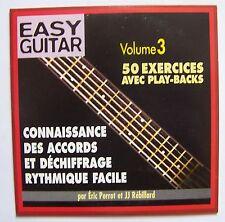 C9- EASY GUITAR - 50 EXERCICES AVEC PLAY-BACKS volume 3