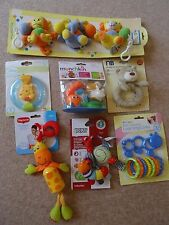 mothercare tiny love munchkin baby toy bundle