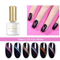 BORN PRETTY 6ml Magnetic Cat Eye Soak Off UV Gel Polish Nail Art Gel Varnish DIY