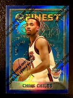 1995-96 Topps Finest Refractor Chris Childs #188 MINT NETS