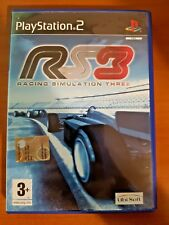 RACING SIMULATION 3 - PLAYSTATION 2 PS2 USATO