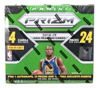 2018-19 Panini Prizm Basketball Retail Box 24 Packs 4 Cards Each Pack Sealed
