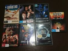 Bulk Horror Movie Lot! 7 Films. R4 AUS. Halloween H20, Pet Sematary, The Ring ++