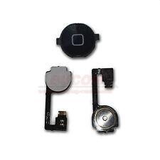 iPhone 4 Home Button Homebutton Taste Knopf mit Flexkabel Matte schwarz