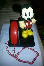 Vintage Walt Disney Mickey Mouse At&T Land Line Phone