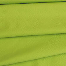 Lime SYNTHETIC LEATHER  fabric for furniture, auto upholstery by the metre