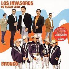 Del Norte lo Mejor Los Invasores de Nuevo Leon y Bronco CD CD'S ARE BRAND NEW