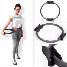 Gymnastic Aerobic Resistance Pilates Rings Circle Fitness Wheel Handle Yoga Ring