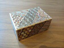 Japanese Rare Puzzle Box (Hakone Japan)