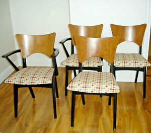 RETRO VINTAGE MID CENTURY G PLAN? BUTTERFLY BACK  DINING CHAIRS x4