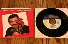 RINGO STARR WRACK MY BRAIN ORIGINAL PICTURE SLEEVE & 45RPM ~ 1981