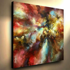 Large Painting Abstract Giclee Canvas Print Original Mike Lang Art Contemporary