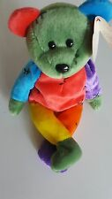 Ty Beanie Baby Frankenteddy Neww/tags-rare green & purple shoes!!