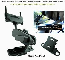 Nice Car Mount For The Rear Mirror Good For New&Old Models COBRA Radar Detector