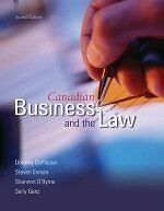 Canadian Business And The Law : Second Edition