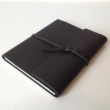 RUSTICO Writer's Log Large Leather Journals Notebooks Diary Gifts Black