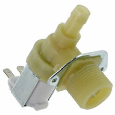 "BOSCH Dishwasher Solenoid Valve Electric Water Fill Single Inlet 3/4"" 14mm 90º"