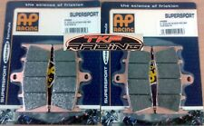 AP RACING SINTERED FULL SET FRONT BRAKE PADS KAWASAKI ZRX1200'R 2002-2008