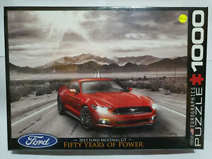 Eurographics 60702 Ford Mustang 2015 1000 pce jigsaw