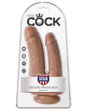Pipedream King Cock Double Penetrator - Tan