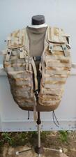 British Army tactical vest load carrying platform molle desert DPM genuine issue