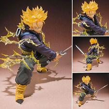 "Anime Dragon Ball Z Super Saiyan Trunks PVC Figures Manga Figurine Kids Toys 6"""