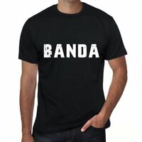 banda Hombre Camiseta Negro Regalo De Cumpleaños 00553