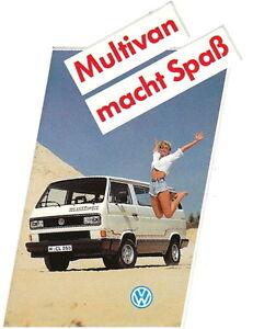 VW Bus T3 - Aufkleber - Multivan macht Spaß - NEU