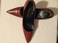 Pre Owned Size 10 Martinez Valero Women's Heel Gentle Worn 4 Inches Heel