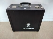 Hohner Akkordeon Koffer Hartschalen Koffer Schwarz Top Zustand
