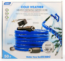 Camco 50' TastePure Heated Drinking Water Hose with thermostat 22912 5/8""