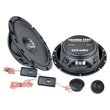 BMW 3er (E46) Touring 98-07 Ground Zero flat car speakers 165mm component front