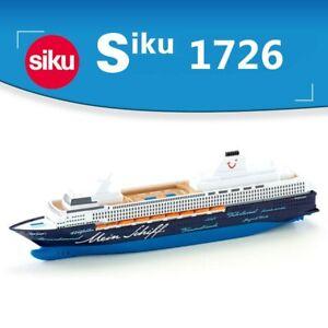 Siku 1726 Toy Model 1:1400 Mein Schiff 1 Luxury Cruise Civilian Ship Collection
