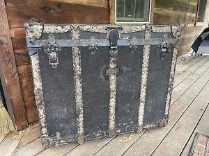 Theatrical Trunk Made By HG Farber & Sons Co. Utica, NY