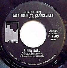 LINDA BALL folk Pop CANADA 45 Last Train To Clarksville / I Wanna Be Free F2253