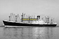 mc1816 - Glen Line Cargo Ship - Glenlyon , built 1962 - photo 6x4