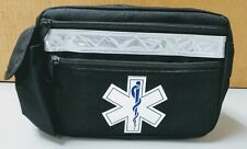 6 Pocket Emergency Medical Pack with Reflective Details- Great First Aid Kit