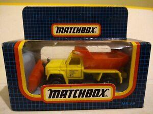 MATCHBOX  No 69 SNOW PLOUGH .