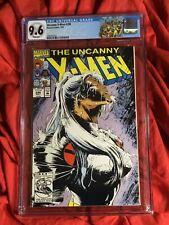CGC 9.6~UNCANNY X-MEN #290~FORGE LEAVES X-MEN~STORM COVER+CGC CUSTOM LABEL~