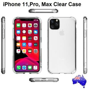 Soft Transparent Case for iPhone 11 PRO MAX X XS 8 7 6S 5S Plus SE Clear Cover