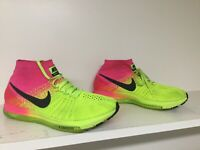 NIKE Air ZOOM ALL OUT FLYKNIT OC MEN SIZE 10.5 845716 999 Volt Neon