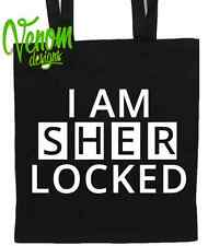 I AM SHERLOCKED - Tote Bag Funny holmes watson Womens gift present Christmas toy