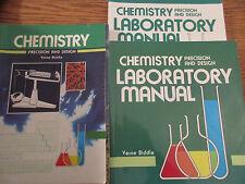 ABeka Chemistry set  (student/lab manual/lab key/quizzes) (1st ed)