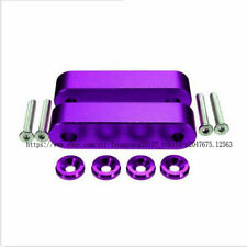 Purple Hood Screw Spacer Risers Set For 90-01 Acura 88-00 fit Honda Civic SET