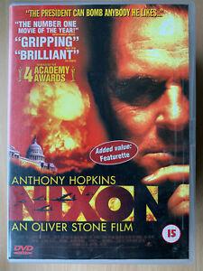 Nixon DVD 1995 Oliver Stone President of American Movie Drama w/ Anthony Hopkins
